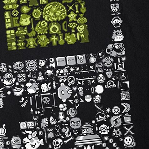 style3 8-Bit Game T-Shirt Homme Pixel Boy