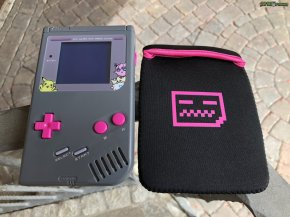 Deadpan Robot - Original Game Boy Carry Case Pink (10)