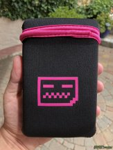 Deadpan Robot - Original Game Boy Carry Case Pink (3)