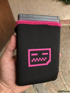 Deadpan Robot - Original Game Boy Carry Case Pink (5)