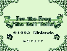 For the Frog the Bell tolls (1)