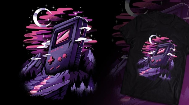 Qwertee Games Dreamland