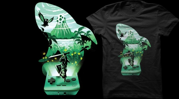 Qwertee The Legend awakens