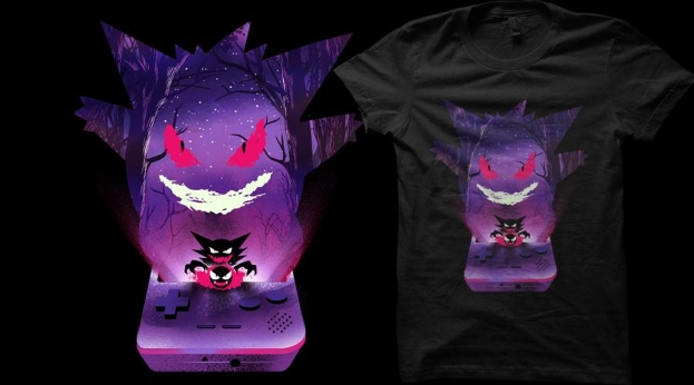Qwertee The Poison Monster