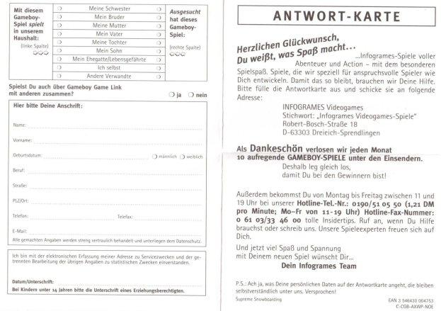 antwortkarte c-cgb-axwp-noe vorderseite