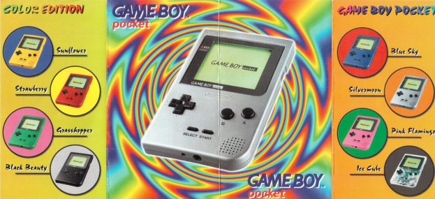 Game Boy Pocket Color Edition