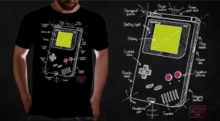 Qwertee Gameboy project