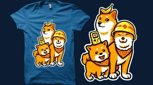 Qwertee Good Dogs