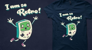 Qwertee Retro Gamer