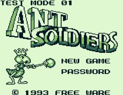 Angespielt Ant Soldiers (1)