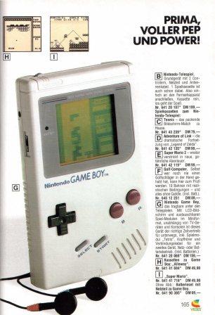 Buch der Wünsche 1990 Game Boy Werbung