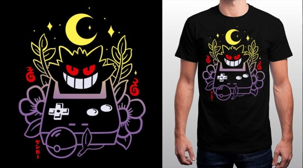 Qwertee Pocket Ghost