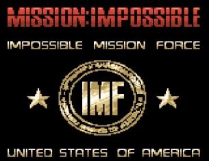 GBC Mission Impossible Startbildschirm