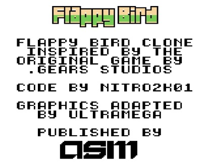 Angespielt ASM Flappy Bird (1)