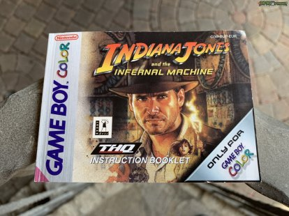 Indiana Jones and the Infernal Machine Spielanleitung (1)