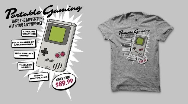 Qwertee Portable Gaming