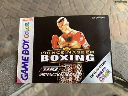 Prince Naseem Boxing Spielanleitung (1)