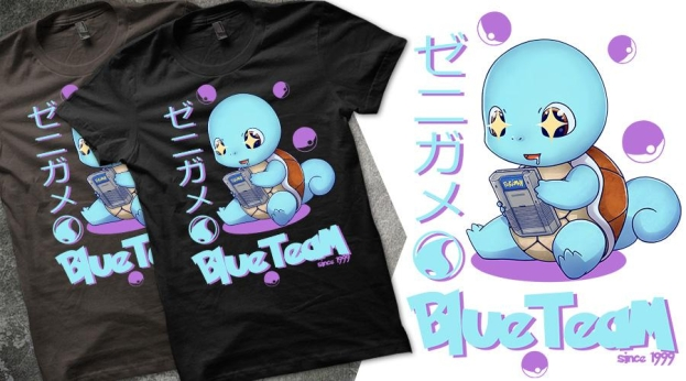 Qwertee Blue Team