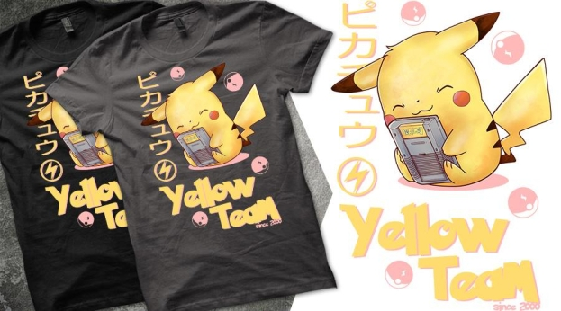 Qwertee Yellow Team