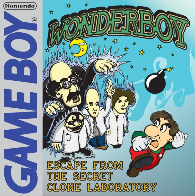 Wonderboy Escape from the secret clone laboratory Cover
