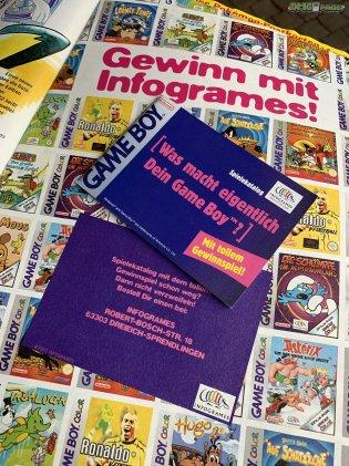 Werbung Gewinn mit Infogrames - Spielekatalog (1)