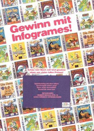 Werbung Gewinn mit Infogrames - Spielekatalog (8)