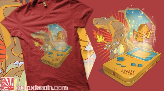 Qwertee Retrogaming Red