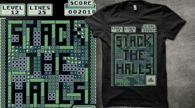Qwertee Stack the Halls