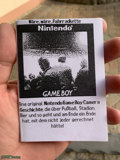 Nintendo Game Boy Camera Geschichte (1)