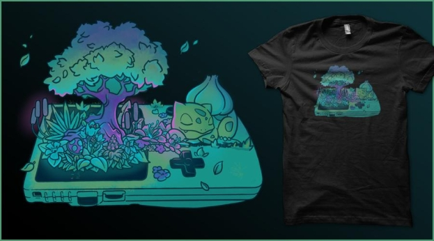 Qwertee GB Green Starter