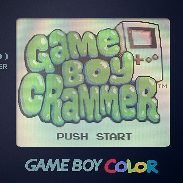 Game Boy Crammer Podcast Logo