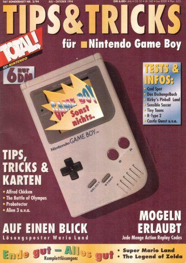 TOTAL - Tips und Tricks für Nintendo Game Boy - Sonderheft 2-1994