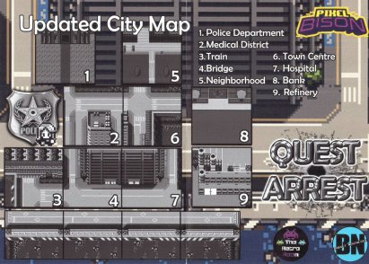 Quest Arrest Updated City Map