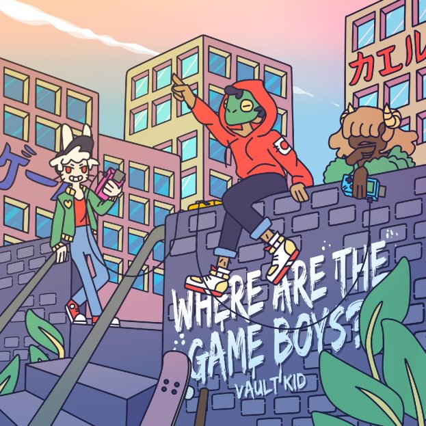 Vault Kid - Where Are The Game Boys - EP Cover